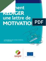 Comment Rediger Une Lettre de Motivation