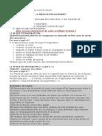 conseil pour les sujets de rédaction de brevet