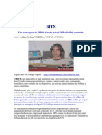 BITX - TRANSCEPTOR SSB