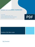 BDA 02 Fonctions SQL