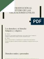 Introducción Al Estudio de Las Obligaciones Civiles