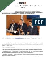Comment les membres de la CGEM voient les impôts au Maroc
