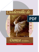 CUADERNILLO DE DANZA, 2do. TRIMESTRE
