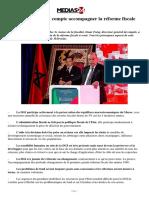 Comment la DGI compte accompagner la réforme fiscale