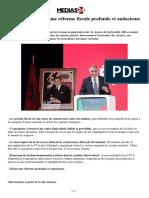 Mezouar appelle à une réforme fiscale profonde et audacieuse