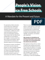 UYC Vision for Police Free Schools 2021 With Sign Ons