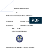 Literature Review for Research Papers