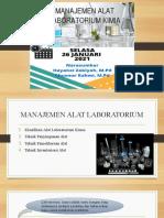 Manajemen Alat Laboratorium Kimia