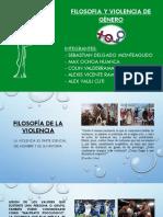 FILOSOFIA Y VIOLENCIA DE GENERO
