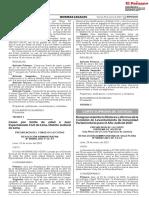PJ designa miembros de la Comisión de levantamiento de inmunidad parlamentaria 2021 [RA 000003-2021-SP-CS-PJ]