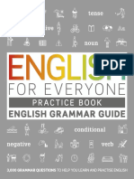 English for Everyone - English Grammar Guide - Practice Book