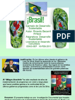 Brasil Ejemplo de desarrollo sustentable