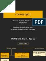 U9 Q301 Tumeur du foie OK