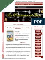 35 El Ancla - Numero Treinta y Cinco - Oraculo Leonormand - - Las Revelaciones del Tarot