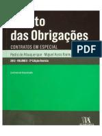 Direito Das Obrigações - Volume II - Pedro Albuquerque e Miguel Raimundo