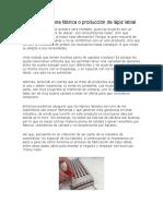 Cómo montar una fábrica o producción de lápiz labial