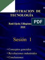 ADMINISTRACION 1 DE TECNOLOGIA S1-2-3