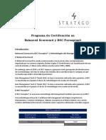 Programa de Certificación