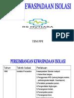 KEWASPADAAN ISOLASI LENGKAP2021