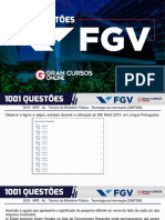 1001 Questões FGV - Informática - Fabrício Melo 27.01