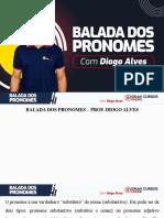 BALADA DOS PRONOMES
