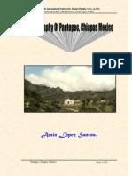 Amín López Santos / Monography of Pantepec