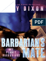 6 Josie and Heiden - Barbarian's Mate - Ice Planet Barbarians