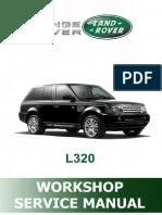 L320 Range Rover Sport - 2012 WorkShop 6052pág / Manual de Taller y Servicio