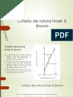 Criterio de Rotura Hoek Brown (1)