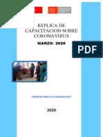 REPLICA DE CORONAVIRUS