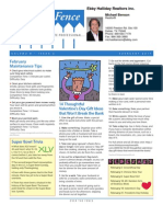 MICHAEL BENSON FEB 2010 NEWSLETTER