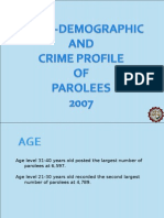 Parolees Profile