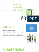 Aplicaciones de Las TIC's en Psicología Clínica y de La Salud