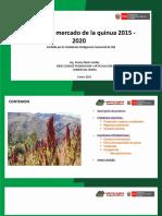 Ppt Analisis Del Mercado de La Quinua 2015 - 2020