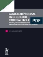 CARRASCO-La Nulidad Procesal en El Derecho Procesal Civil Chileno