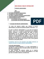 5. Clase # 6 de derecho administrativo -