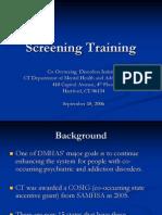 screeningtraining