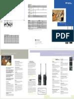 Motorola GP339 Specifications