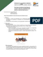 Reconocimiento de microestructuras de metales ferrosos
