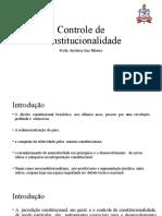 Controle de Constitucionalidade - Profa-Krishina