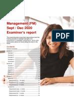 FM SD20 examiner's report