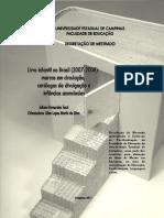 DISSERTAÇÃO - Livro infantil no Brasil (2007-2008) marcas em circulaÇÃO