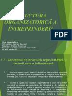 Proiect - Structura organizationala a intreprinderii