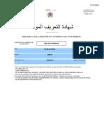 Certificat Ice