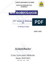 Microbiologie S3 Chadli Médecine Oct 2020