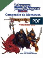 D&D - 2.0 - EZ - DragonLance - Compendio de Monstruos Dragonlance - Volumen Dos [EZ206]