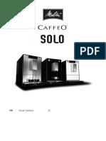 Manuel Melitta Caffeo Solo