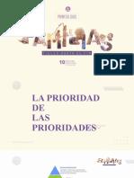 1 - LA PRIORIDAD DE LAS PRIORIDADES  N 1 DA FAMÍLIA
