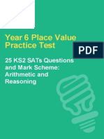 Year 6 Place Value Test SATs-converted