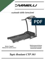 Carnielli CTP 303 Treadmill